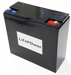 Lithium LiFePO4 Battery 20Ah 12V