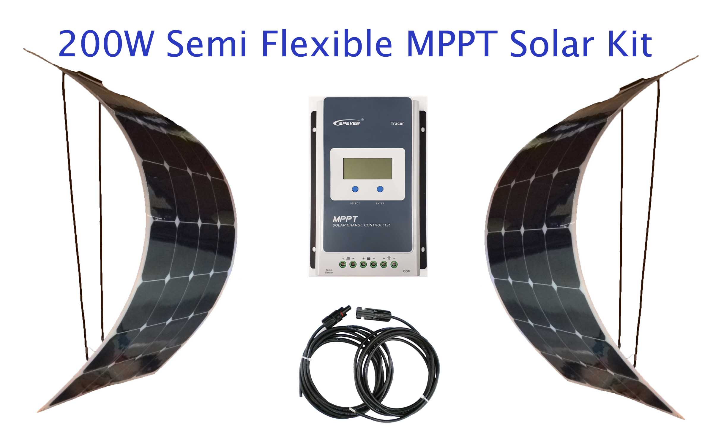 Semi Flexible Solar Kit