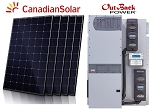10 kW Pre-wired Hybrid Solar Kit