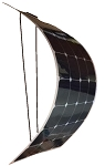 100W Semi Flexible ETFE Solar Panel