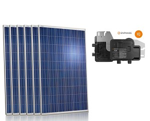 solar kit with Enphase micro inverter